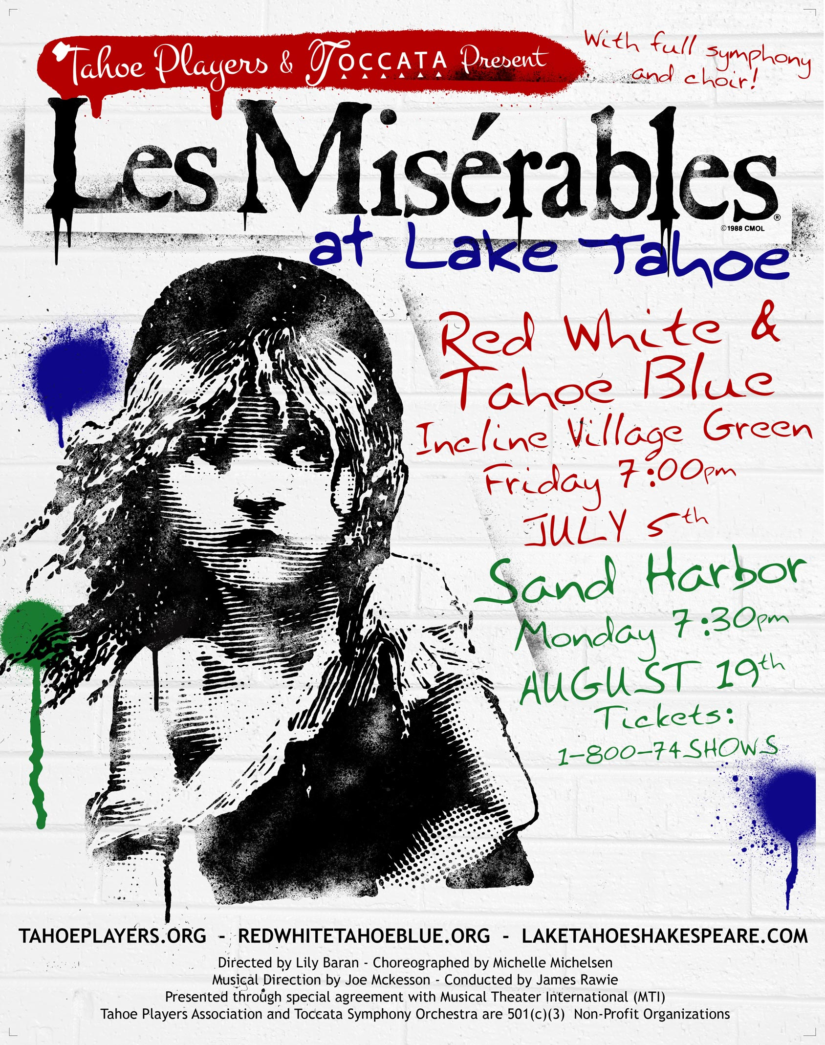 Tahoe Players Les Miserables