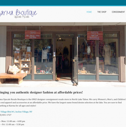 Karma Upscale Resale Boutique