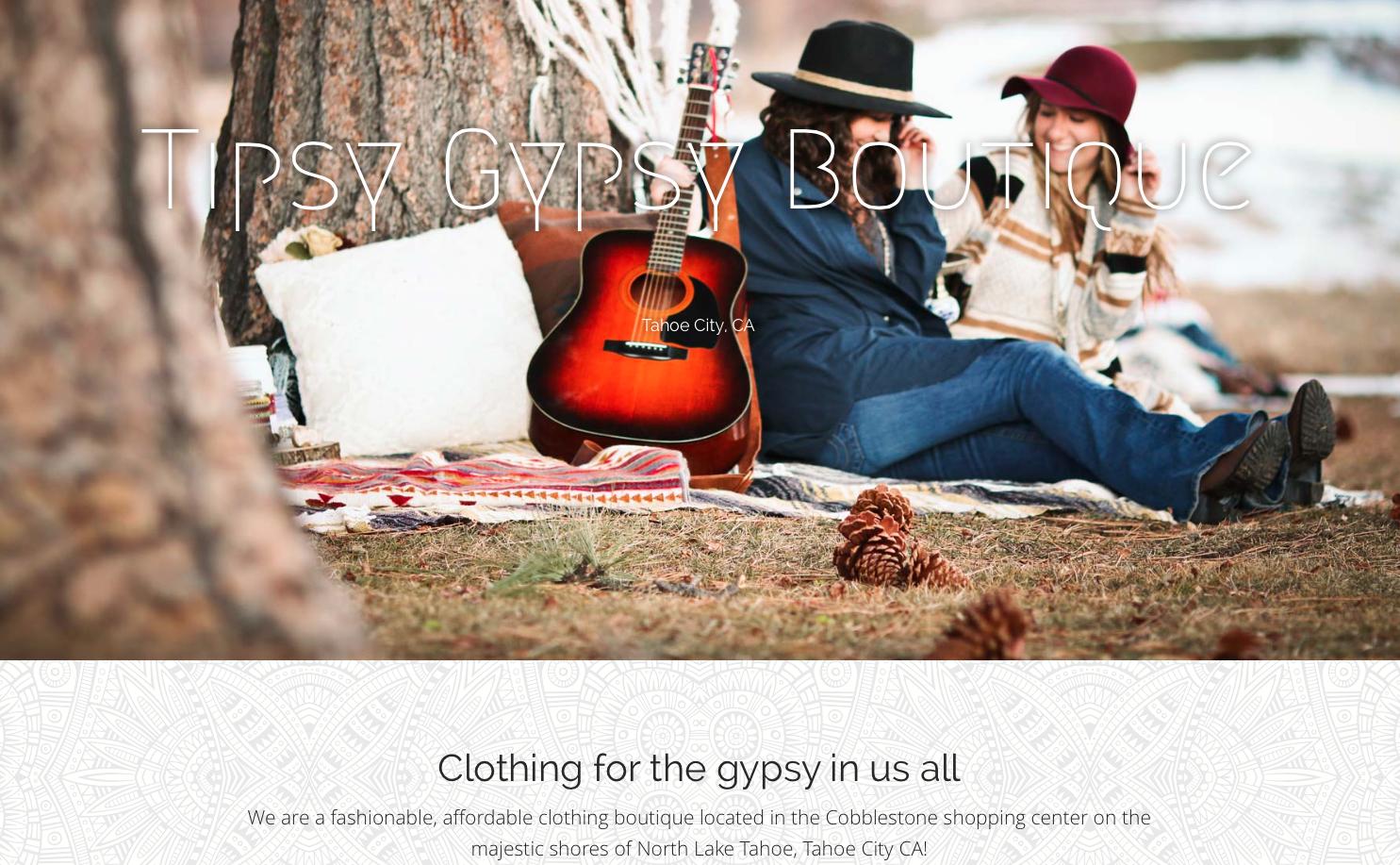 Tipsy Gypsy Boutique Tahoe